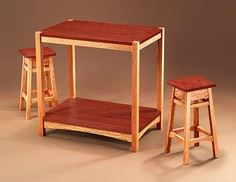 Build a Snack Bar and Stools