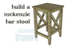 A Bar Stool Plan Suitable for All