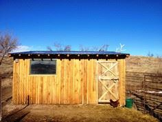 A DIY Goat Barn for Less Than