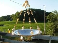 Easy Bird Feeder/Candle Holder