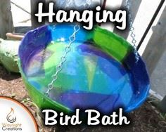 Make a Hanging Bird Bath With Tiss