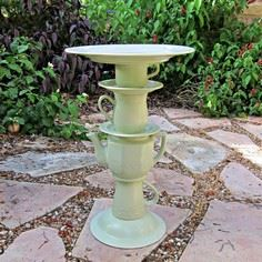 DIY: Tea Pot Bird Bath
