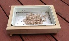 Platform Bird Feeder or Bath
