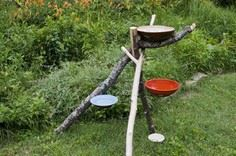 DIY Bird Bath Water Park