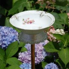 DIY Bitty Bird Bath