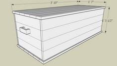 Traditional Hope Chest plans