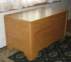 Free Blanket Hope Chest Plans - Ho