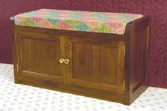 Ottoman - blanket chest tutorial