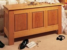 Frame & Panel Hope Chest tutor