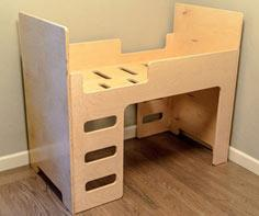 Picture of Simple, Elegant Toddler Bed
