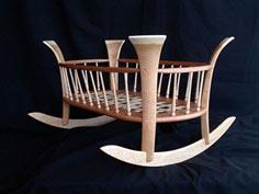 Turned Baby Cradle Tutorial