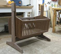 Becky's Cradle, a Tutorial with Plans