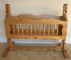 Wooden Baby Cradle Tutorial