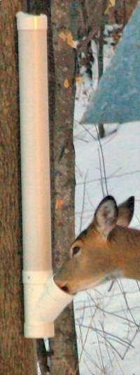 pvc pipe projects | deer feeder