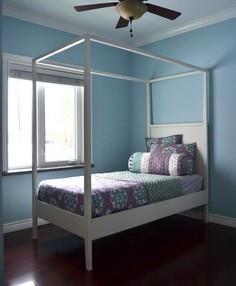 Build a Hannah Canopy Bed | Free a