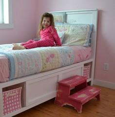 Build a Hailey Storage Bed - Twin