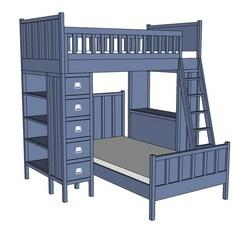 Cabin Bunk System - Top Bunk