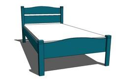 Pioneer Bed, Twin