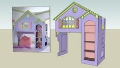 Reese's Doll House Bed