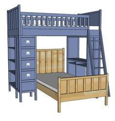 Build a Cabin Collection Single Bed