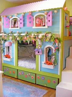Build a Sweet Pea Bunk Bed