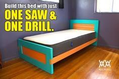 Build a bed with limited tools