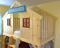 Build a Clubhouse Bed