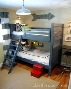 Build a Side Street Bunk Beds