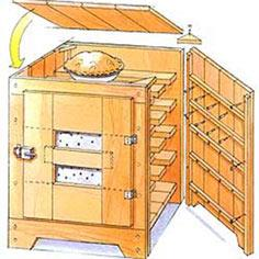 An Old-Fashioned Pie Safe Plans