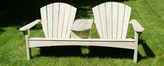 Build a Double Adirondack Chair - Free Project Plan