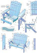 How to Make an Adirondack Chair and Love Sea