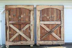 Building of our barn doors
