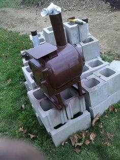DIY Backyard Smoker