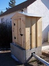 Build A Smoke House or A Food Smoker