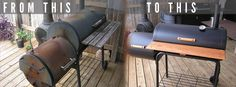Acts of Manliness: How to Refurbish or Recondition a BBQ Smoker