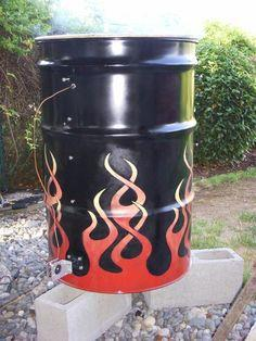 Making of a Drum Smoker