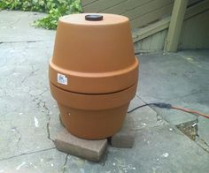 Cheap redneck ceramic smoker