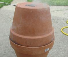 New take on the Terra Cotta smoker