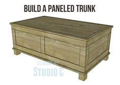 Build a Paneled Trunk