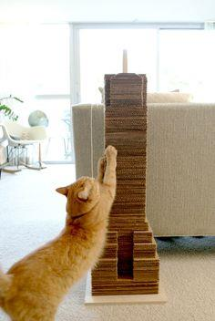 Skyscraper Cat Scratcher