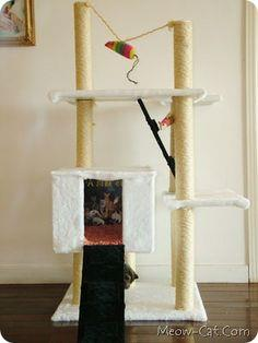 diy simple cat tree