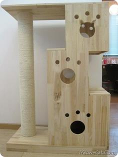 Unique cat tree plan