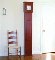 Shaker tall clock plan