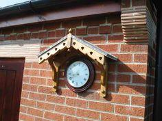 Garden Clock Cover – tutorial