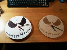 Jack Skellington clock – tutorial