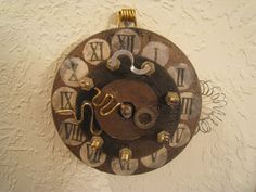 Steampunk Wall Clock tutorial