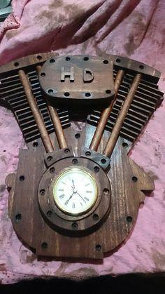 Harley Davidson Clock tutorial