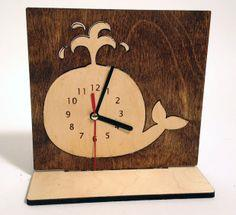 Whale Desk Clock tutorial