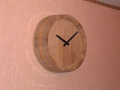 Whiskey barrel clock tutorial