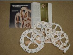 wooden gear clock tutorial